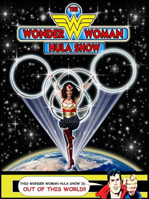 WonderWoman Hula Show